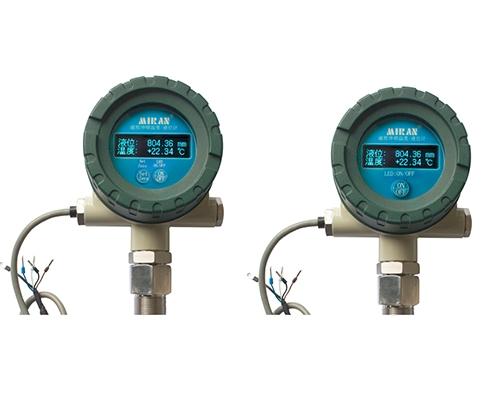 表头数显式磁致伸缩温度/液位计