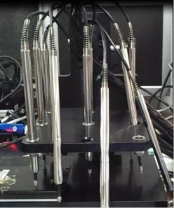 LVDT位移传感器用于精密厚度测量